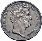 Photo numismatique  ARCHIVES VENTE 2016-19 oct MODERNES FRANÇAISES LOUIS-PHILIPPE Ier (9 août 1830-24 février 1848)  537- 1 franc, Nantes 1831.