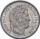 Photo numismatique  ARCHIVES VENTE 2016-19 oct MODERNES FRANÇAISES LOUIS-PHILIPPE Ier (9 août 1830-24 février 1848)  538- 2 francs, Rouen 1845.
