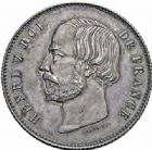Photo numismatique  ARCHIVES VENTE 2016-19 oct MODERNES FRANÇAISES HENRI V, prétendant (29 septembre 1820-1883)  555- Essai de 5 francs, 1871. 555- Essai de 5 francs 1871.