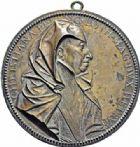 Photo numismatique  ARCHIVES VENTE 2016-19 oct MÉDAILLES ARTISTIQUES Christine de Lorraine (1565-1636), Duchesse de Toscane  563- Médaille uniface de Guillaume Dupré.