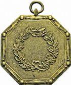 Photo numismatique  ARCHIVES VENTE 2016-19 oct PLAQUES DE MÉTIERS LE CONSULAT (1799-1804)  565- Huissier du Sénat Conservateur. Plaque octogonale.