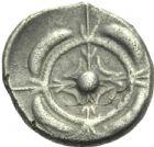Photo numismatique  MONNAIES GAULE - CELTES RHODA, imitation des monnaies de  Drachme de type Ibère.