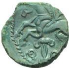 Photo numismatique  MONNAIES IBERIE- GAULE - CELTES VELIOCASSES (Vexin normand)  Bronze.