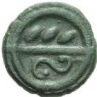 Photo numismatique  MONNAIES GAULE - CELTES CALETI (Pays de Caux)  Bronze.