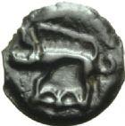 Photo numismatique  MONNAIES IBERIE- GAULE - CELTES LEUCI (Cours supérieurs de la Meuse et de la Moselle)  Potin.