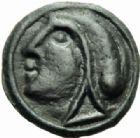 Photo numismatique  MONNAIES IBERIE- GAULE - CELTES SEQUANES (région de Besançon)  Potin.