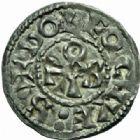 Photo numismatique  MONNAIES BARONNIALES Seigneurie de DEOLS EUDES L'Ancien (1012-1044) Denier.