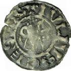 Photo numismatique  MONNAIES BARONNIALES Comté de SANCERRE ETIENNE Ier (1152-1191) Denier.
