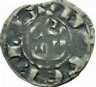 Photo numismatique  MONNAIES BARONNIALES Seigneurie de CELLES ROBERT Ier (1178-1189) Denier imitant celui de Saint-Aignan.