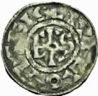 Photo numismatique  MONNAIES BARONNIALES Villes de CREPY et TROYES XIème siècle Grand denier.