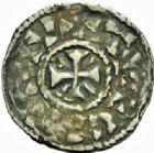 Photo numismatique  MONNAIES BARONNIALES Villes de CRÉPY et TROYES XIème siècle Grand denier.