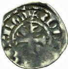 Photo numismatique  MONNAIES BARONNIALES Comté de TONNERRE ELEONORE de Savoie, tutrise (1304-1308) Denier.