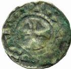 Photo numismatique  MONNAIES BARONNIALES Comté d'AUXERRE (Xe siècle) Obole.