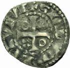 Photo numismatique  MONNAIES BARONNIALES Comté du MANS CHARLES III (1290-1317) Denier.