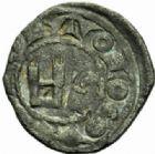 Photo numismatique  MONNAIES BARONNIALES Comté de TOULOUSE ALPHONSE de France (1249-1271) Obole.