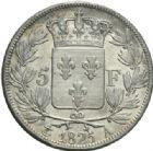 Photo numismatique  MONNAIES MODERNES FRANÇAISES CHARLES X (16 septembre 1824-2 août 1830)  5 francs, Paris, 1825.