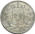 Photo numismatique  MONNAIES MODERNES FRANÇAISES CHARLES X (16 septembre 1824-2 août 1830)  5 francs, Lille, 1825.