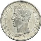 Photo numismatique  MONNAIES MODERNES FRANÇAISES CHARLES X (16 septembre 1824-2 août 1830)  5 francs, Paris, 1826.