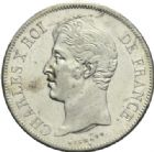 Photo numismatique  MONNAIES MODERNES FRANÇAISES CHARLES X (16 septembre 1824-2 août 1830)  5 francs, Paris, 1827.