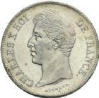 Photo numismatique  MONNAIES MODERNES FRANÇAISES CHARLES X (16 septembre 1824-2 août 1830)  5 francs, Lille, 1827.