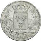 Photo numismatique  MONNAIES MODERNES FRANÇAISES CHARLES X (16 septembre 1824-2 août 1830)  5 Francs, Strasbourg, 1828.