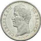 Photo numismatique  MONNAIES MODERNES FRANÇAISES CHARLES X (16 septembre 1824-2 août 1830)  5 francs, Bayonne, 1829.