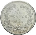 Photo numismatique  MONNAIES MODERNES FRANÇAISES LOUIS-PHILIPPE Ier (9 août 1830-24 février 1848)  5 francs, Paris, 1834.