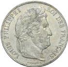 Photo numismatique  MONNAIES MODERNES FRANÇAISES LOUIS-PHILIPPE Ier (9 août 1830-24 février 1848)  5 francs, Lille, 1834.