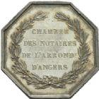 Photo numismatique  JETONS PÉRIODE MODERNE NOTAIRES ANGERS (Maine-et-Loire) Jeton.