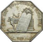 Photo numismatique  JETONS PERIODE MODERNE NOTAIRES AUXERRE (Yonne) Jeton.