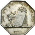Photo numismatique  JETONS PÉRIODE MODERNE NOTAIRES AUXERRE (Yonne) Jeton.