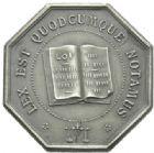 Photo numismatique  JETONS PERIODE MODERNE NOTAIRES BETHUNE (Pas-de-Calais) Jeton.