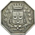 Photo numismatique  JETONS PERIODE MODERNE NOTAIRES CHATEAUDUN (Eure-et-Loir) Jeton.