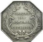Photo numismatique  JETONS PÉRIODE MODERNE NOTAIRES CHATEAUDUN (Eure-et-Loir) Jeton.