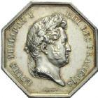 Photo numismatique  JETONS PERIODE MODERNE NOTAIRES SENLIS (Oise) Jeton.