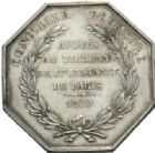 Photo numismatique  JETONS PERIODE MODERNE PROFESSIONS JUDICIAIRES Avoués près le Tribunal de Paris Jeton.