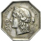 Photo numismatique  JETONS PERIODE MODERNE MEDECINE, SANTE Conseil dép. d'hygiène et de salubrité de Seine-et-Oise