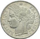 Photo numismatique  MONNAIES MODERNES FRANÇAISES 2e REPUBLIQUE (24 février 1848-2 décembre 1852)  5 francs, Paris, 1849.