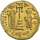 Photo numismatique  MONNAIES EMPIRE BYZANTIN CONSTANS II (641-668)  Solidus, Constantinople