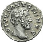 Photo numismatique  MONNAIES EMPIRE ROMAIN ANTONIN LE PIEUX (César 138 - Auguste 138-161)  Denier, Rome, 161.