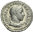 Photo numismatique  MONNAIES EMPIRE ROMAIN ALEXANDRE SEVERE (César 221-222 - Auguste 222-235)  Denier, Rome, 232.