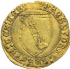 Photo numismatique  MONNAIES MONNAIES DU MONDE ESPAGNE JEAN II (1406-1454) Dobla de la banda, Séville.