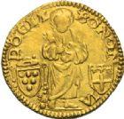Photo numismatique  MONNAIES MONNAIES DU MONDE ITALIE SAINT-SIEGE, Léon X (1513-1521) Ducato, Bologne.