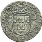 Photo numismatique  MONNAIES ROYALES FRANCAISES LOUIS XII (8 avril 1498-31 décembre 1514) Monnaies frappées en Italie, (1499-1512) Grosse de 3 sous dit Bissone, Milan.