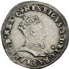 Photo numismatique  ARCHIVES VENTE 2017-7 juin - Coll Fr. Beau Fr. BEAU - ROYALES FRANCAISES HENRI II (31 mars 1547-10 juillet 1559)  3 Demi-teston du 1er type à la tête couronnée, Lyon, 1552.