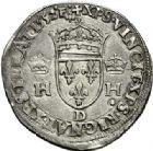 Photo numismatique  VENTE 7 juin 2017 - Coll Fr. Beau et divers Fr. BEAU - ROYALES FRANCAISES HENRI II (31 mars 1547-10 juillet 1559)  3 Demi-teston du 1er type à la tête couronnée, Lyon, 1552.