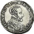 Photo numismatique  VENTE 7 juin 2017 - Coll Fr. Beau et divers Fr. BEAU - ROYALES FRANCAISES HENRI II (31 mars 1547-10 juillet 1559)  5 Teston et demi-teston du 2ème type, Bordeaux, 1558.