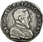 Photo numismatique  ARCHIVES VENTE 2017-7 juin - Coll Fr. Beau Fr. BEAU - ROYALES FRANCAISES HENRI II (31 mars 1547-10 juillet 1559)  6 Teston et demi-teston du 2ème type, Bayonne, 1555.