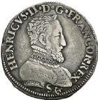 Photo numismatique  VENTE 7 juin 2017 - Coll Fr. Beau et divers Fr. BEAU - ROYALES FRANCAISES HENRI II (31 mars 1547-10 juillet 1559)  6 Teston et demi-teston du 2ème type, Bayonne, 1555.
