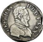 Photo numismatique  VENTE 7 juin 2017 - Coll Fr. Beau et divers Fr. BEAU - ROYALES FRANCAISES HENRI II (31 mars 1547-10 juillet 1559)  7 Teston du 2ème type, Bourges, 1554.